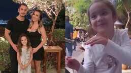 La hija de Mariazel saca sus mejores pasos de baile y ella lo presume orgullosa