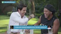 La alegría del futbol: tres minutos de risas con Ronaldinho