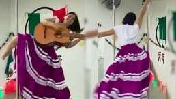 Pole dance mexicano: Se acercan las fiestas patrias y el cuerpo lo sabe