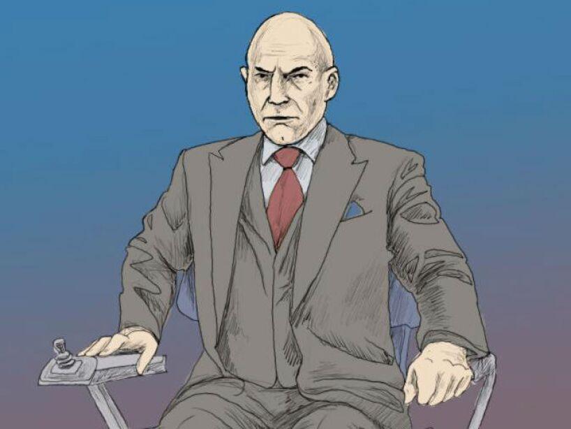 6. Charles Francis Xavier, Professor X: Es un mutante que posee vastos poderes telepáticos, y es uno de los telépatas más poderosos.