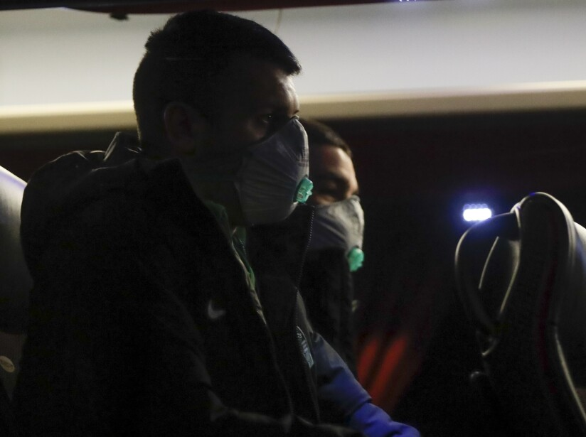 Italy Soccer Virus Outbreak