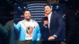 Carlos 'El Zar' Aguilar recuerda con emotiva foto cuando conoció al boxeador Manny Pacquiao