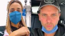 Odalys Ramírez revela que su esposo Patricio Borghetti podría estar contagiado de coronavirus