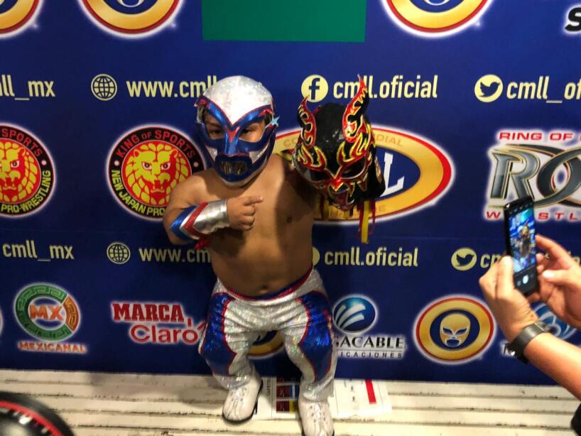Microman desenmascaró a Chamuel y Último Guerrero derrotó y rapó al Negro Casas. Metálica derrotó a Dalys y reafirma el Campeonato Nacional Femenil. Sansón, Cuatrero y Forastero vencen a Místico, Carístico y Valiente en el Campeonato Mundial de Tercias.