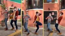 """José Eduardo Derbez y Faysi protagonizan divertido baile en TikTok al ritmo de """"Sígueme Mi Amor"""""""