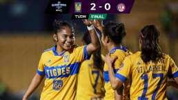 Tigres derrota 2-0 al Toluca con facilidad y retoma subliderato