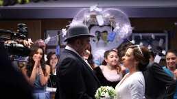 Así se grabó la boda de Angelito y Alondra en 'Cita a ciegas'