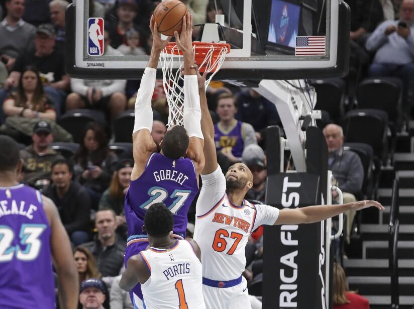 Utah Jazz 128-104 New York Knicks