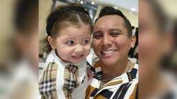 El tierno video de Edwin Luna cantando y bailando con su pequeña Gianna