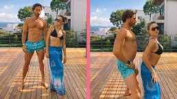 Al estilo de Charli D'Amelio, Angelique Boyer y Sebastián Rulli realizan baile viral