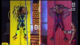¡Nuevo juego! Brandon, Montu, Lolo y Cyntia muestran su resistencia en Talón de Aquiles