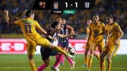 Tigres dominó, pero no pudo ganar en casa ante Rayadas