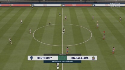 Gudiño logra despertar en el segundo tiempo y consigue sacar el empate ente los Rayados de Luis Cárdenas.