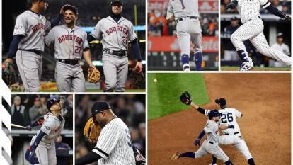 La serie se pone 3-1 para los de Houston sobre los Yankees; están a un juego de la Serie Mundial.