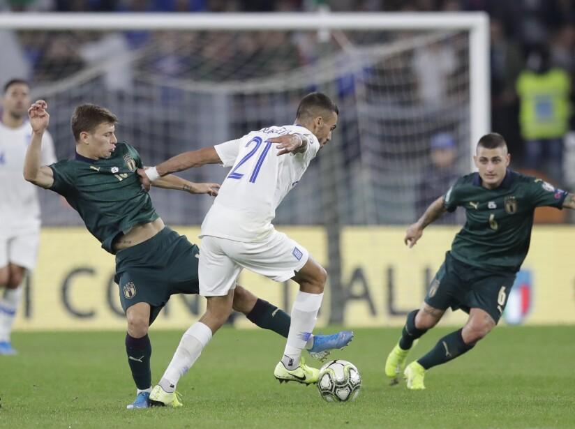 Italy Greece Euro 2020 Soccer