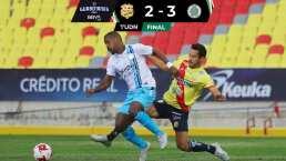 Un imparable Cancún FC derrota al Atlético Morelia en su casa