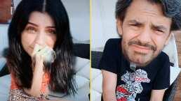 Así reaccionaron Eugenio y Aislinn Derbez al escuchar la explícita letra de 'Safaera', de Bad Bunny