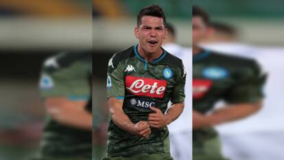 El mexicano no jugaba desde febrero y en los últimos dos partidos que participó el Napoli perdió. Contra el Hellas Verona entró al final del encuentro y anotó un gol en la victoria del Napoli.