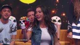 """Juego exclusivo: Mariazel y Mariana Echeverría se """"sabrosearon"""" haciendo '50 Sombras de Grey' con sus siluetas"""