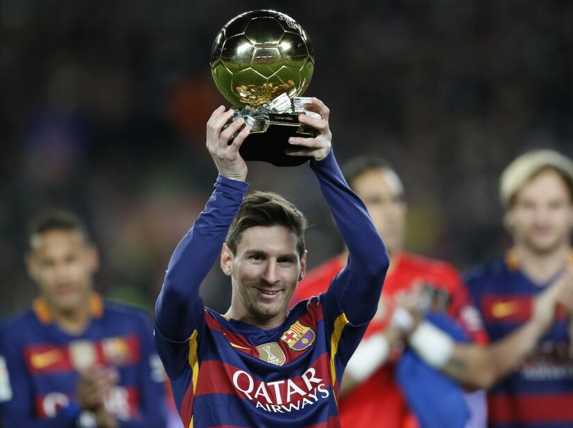Spain Soccer Golden Ball Messi