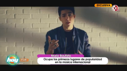 Mario Bautista, el fenómeno de redes sociales, es ahora top en la música.