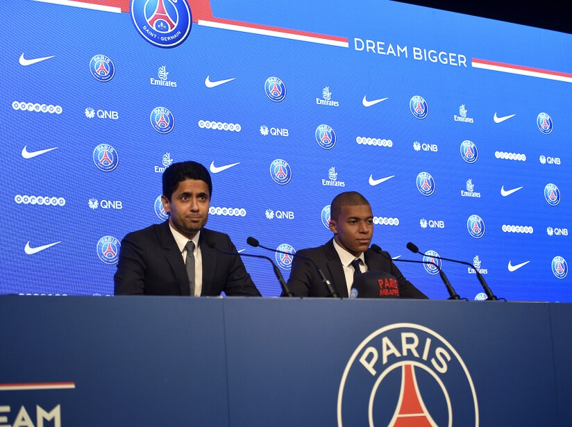 Paris Saint Germain Unveil New Signing Kylian Mbappe
