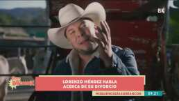 Lorenzo Méndez da detalles sobre su divorcio con Chiquis Rivera