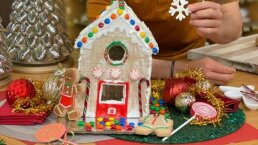 Para sorprender en Navidad, prepara esta deliciosa 'CASITA DE JENGIBRE'