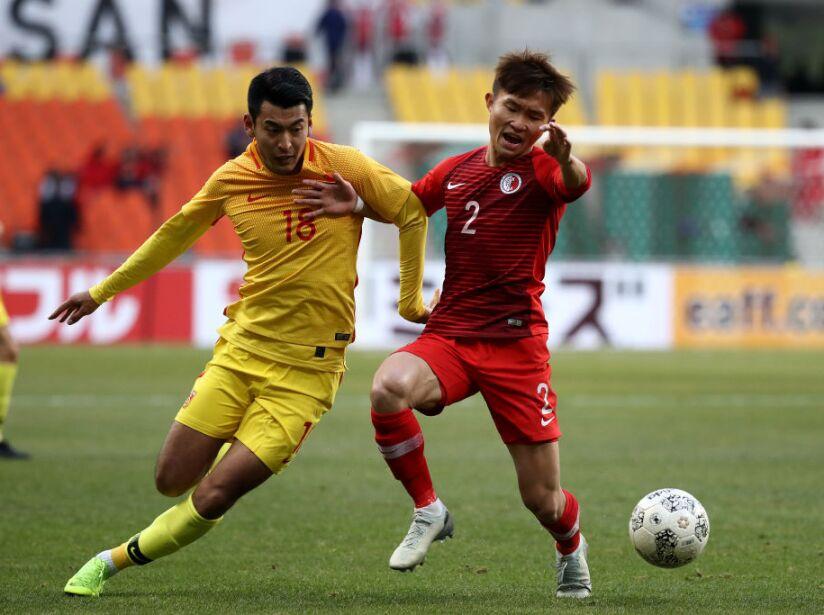 Hong Kong v China - Men's EAFF E-1 Football Championship
