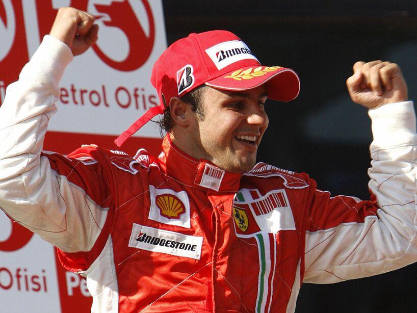 Brazilian Ferrari driver Felipe Massa c