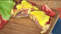 RECETA: Pizza Burger