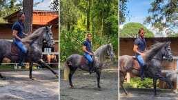 Sebastián Rulli presume su amor por los caballos y lo demuestra cabalgando como todo un profesional