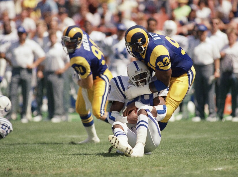 Eric Dickerson, Doug Reed