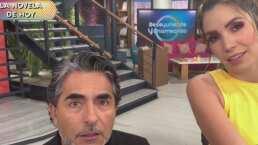 La novela de hoy: Raúl Araiza revela que le va a rentar su departamento a Andrea Escalona