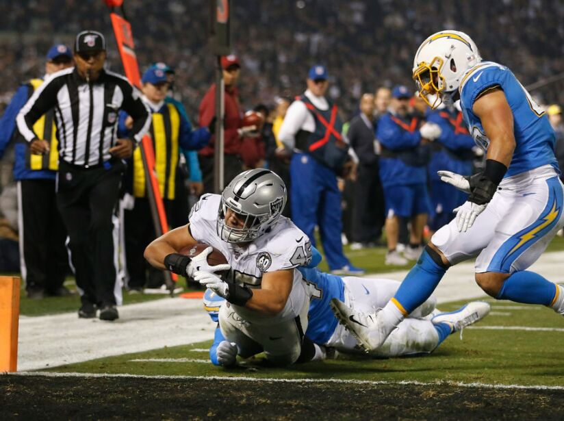 Los Angeles Chargers vOakland Raiders