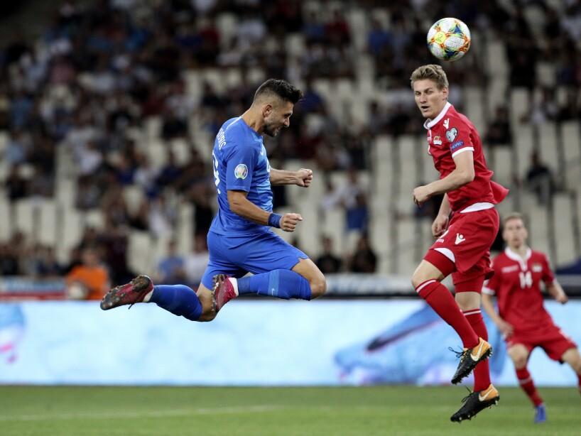 Greece Liechtenstein Euro 2020 soccer