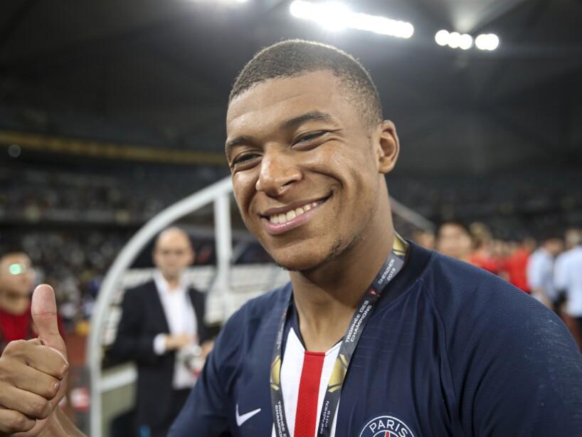 El flamante delantero francés apenas cumple 21 años y lo ha ganado 'casi' todo.