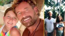 """""""Te amo hija"""": Gabriel Soto y Elissa Marie presumen lo bien que bailan desde su casa en Acapulco"""