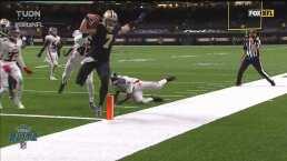 ¡TD de New Orleans! Taysom Hill hace olvidar a Drew Brees