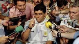"""El día que le """"cortaron las piernas"""" a Diego"""