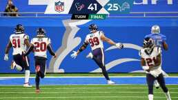 ¡Pavo completo! Texans recibe su pavo con vapuleada sobre Lions