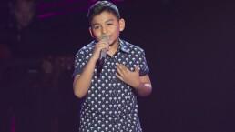 """Santiago Sánchez cantó """"Mi niña traviesa"""""""