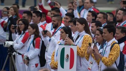 La delegación mexicana tuvo su presentación oficial en la Villa Panamericana