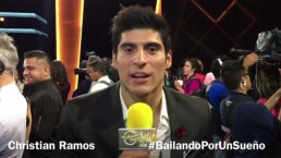 Christian Ramos te invita a ver Bailando por un Sueño