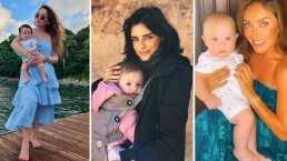 Sherlyn, Aislinn Derbez y otras famosas que recuperaron su cuerpo fit tras haber dado a luz