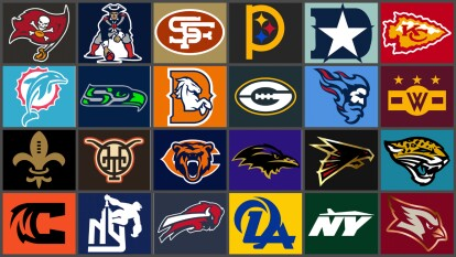 Mark Crosby, diseñador, se encargó de rediseñar el logotipo y los uniformes de los 32 equipos de la NFL ¿Qué les parece?