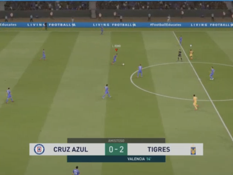 eLiga MX, Cruz Azul vs Tigres, 10.png