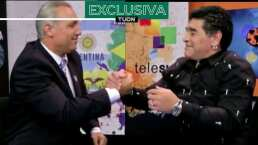 Maradona pidió que no compararán a Messi con él