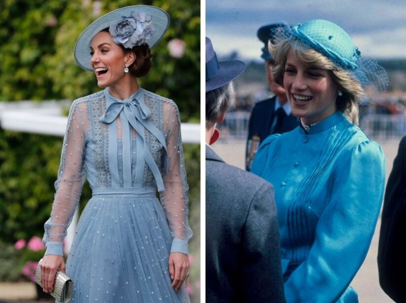 Estos son los tributos que Meghan Markle y Kate Middleton han hecho en honor a la Princesa Diana