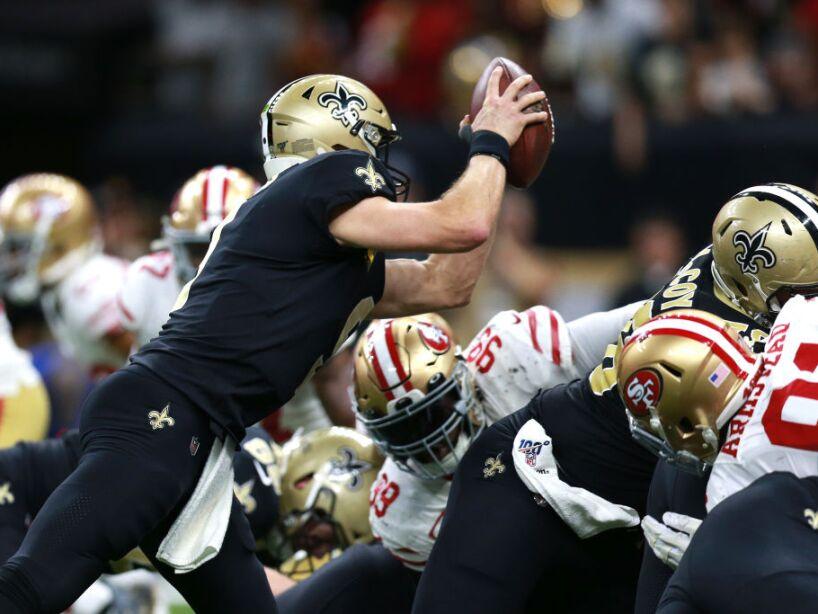 San Francisco 49ers vNew Orleans Saints